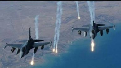Photo of الطيران المجهول يقصف عناصر تركية في ليبيا