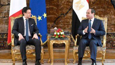 Photo of السيسي ورئيس وزراء إيطاليا يبحثان دعم الجيش الليبي