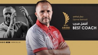 Photo of جمال بلماضي المدير الفني للمنتخب الجزائري الأول لكرة القدم يتوج بجائزة أفضل مدرب في إفريقيا لعام 2019