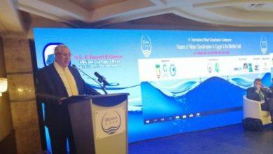 Photo of وزيرا الزراعة والإنتاج الحربي يفتتحان مؤتمر تحلية المياه
