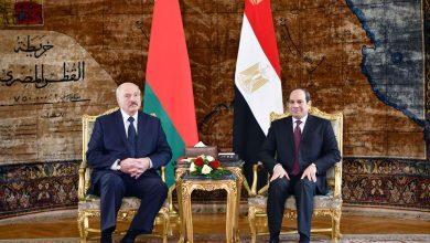 Photo of الرئيس السيسي يصطحب نظيره البيلاروسي في جولة تفقدية بالعاصمة الإدارية الجديدة