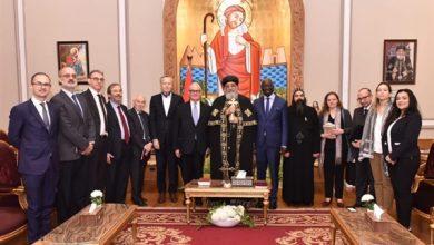 Photo of البابا تواضروس الثاني يستقبل السفير الإيطالي بالقاهرة