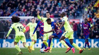 Photo of برشلونة يشعل سباق الصدارة بفوز صعب على خيتافي بنتيجة 2-1