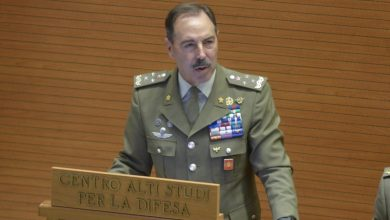 Photo of إصابة رئيس هيئة أركان الجيش الإيطالي بفيروس كورونا