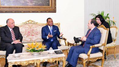 Photo of رسالة من رئيس الكونغو إلي الرئيس السيسي بشأن مستجدات القضية الليبية