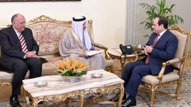 Photo of الرئيس السيسي يتسلم رسالة من ملك البحرين
