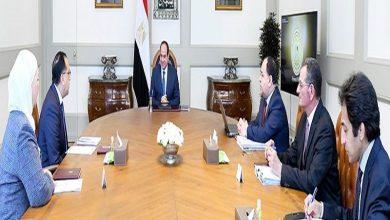 "Photo of الرئيس السيسي يتابع جهود الحكومة في مواجهة فيروس ""كورونا"""