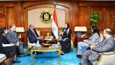 """Photo of وزيرة التجارة تبحث مع وفد """"العمل الدولية"""" مشروعات التعاون المستقبلية في مصر"""