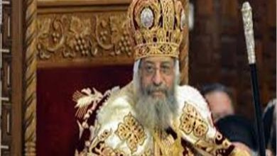 "Photo of البابا تواضروس الثاني يترأس قداس ""أحد الشعانين"" من دير الأنبا بيشوي دون حضور شعبي"