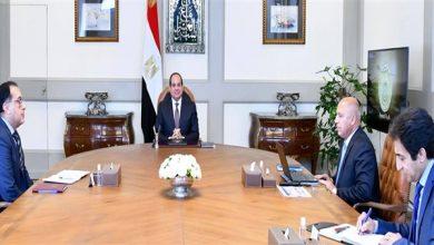 Photo of الرئيس السيسي يطلع على مشروعات النقل ويناقش حلول مديونية السكك الحديدية
