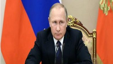"Photo of الرئيس الروسي : روسيا تجاوزت ذروة تفشي وباء ""كورونا"""
