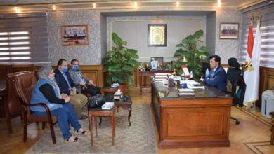 Photo of وزير الشباب والرياضة يلتقي البطلة شيماء خلف للاطمئنان على صحتها