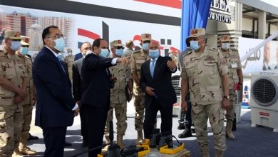 Photo of المتحدث العسكري ينشر فيديو افتتاح الرئيس مشروع «بشاير الخير 3»