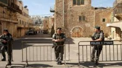 Photo of قوات الاحتلال الإسرائيلي تمنع استكمال أعمال الترميم في الحرم الإبراهيمي