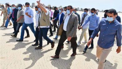 Photo of وزير الإسكان ومحافظ البحيرة يتفقدان الموقع المخصص لإنشاء مدينة رشيد الجديدة