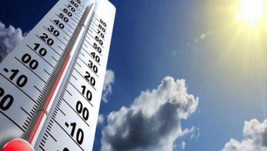 Photo of حالة الطقس المتوقعة غدًا الإثنين 13-7-2020