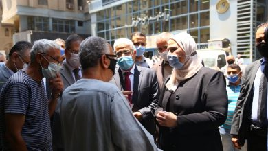 Photo of القباج تتفقد منافذ صرف المعاشات بالهيئة القومية للتأمين الاجتماعي