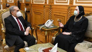 """Photo of وزيرا """"الإنتاج الحربي"""" و""""التجارة والصناعة"""" يبحثان الموضوعات المشتركة"""