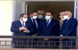 Photo of الرئيس السيسي يتفقد المرحلة الثالثة من مشروع حي الأسمرات