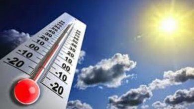 Photo of حالة الطقس المتوقعة غدًا الإثنين 6-7-2020