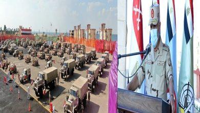 "Photo of رئيس أركان القوات المسلحة يشهد المرحلة الرئيسية لمشروع مراكز القيادة الخارجي ""إعصار 60"""