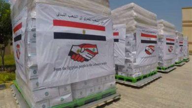 Photo of وصول طائرتي مساعدات إضافيتين من الجسر الجوي الإغاثي المصري إلى لبنان
