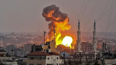 Photo of طائرات الاحتلال الإسرائيلي تشن سلسلة غارات على قطاع غزة