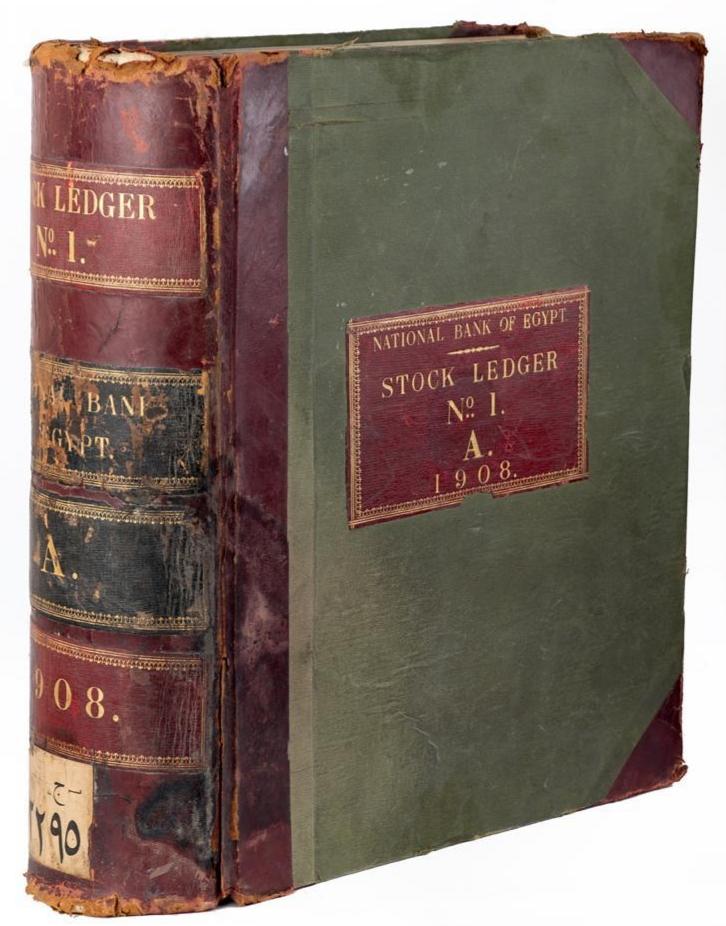 سجل البنك الأهلي عام 1908