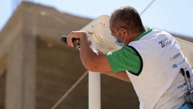 """Photo of المبادرة الإماراتية """"20 في 2020"""" توفر الإنارة المستدامة لقرية في مصر"""