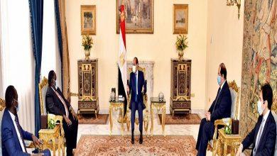 Photo of الرئيس السيسي يستقبل مستشار رئيس جمهورية جنوب السودان للشئون الأمنية