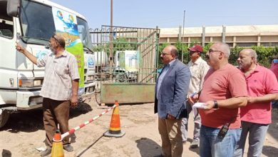 Photo of رئيس شركة مياه الشرب بمحافظات القناة يتفقد جاهزيتها لمجابهة نوات موسم الشتاء القادمة
