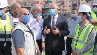 Photo of وزير النقل يتابع معدلات تنفيذ أعمال تطوير الطريق الدائري