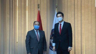 Photo of وزير المالية.. لسفير كوريا الجنوبية:نتطلع لتعظيم الاستثمارات الكورية في مصر