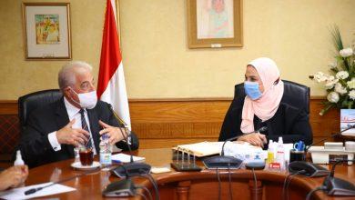 Photo of وزيرة التضامن الاجتماعي تستقبل اللواء خالد فودة محافظ جنوب سيناء