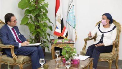 """Photo of وزيرة البيئة تبحث مع السفير الفرنسي دعم المبادرة الرئاسية المصرية للربط بين اتفاقيات """"ريو"""""""