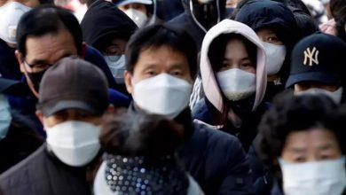 Photo of كوريا الجنوبية تسجل 58 إصابة جديدة بفيروس كورونا و3 وفيات