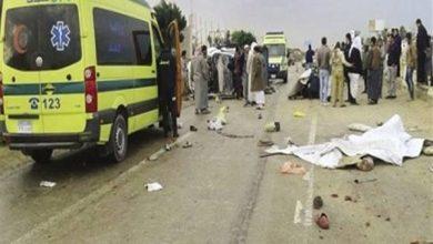 Photo of مصرع شخص وإصابة 7 في حادث انقلاب ميكروباص على الصحراوي ببني سويف
