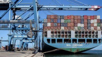 Photo of ميناء دمياط يستقبل 6 سفن متنوعة خلال الـ24 ساعة الماضية