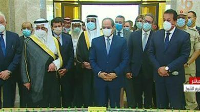 Photo of جولة تفقدية للرئيس السيسي داخل جامعة الملك سلمان