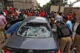 """Photo of إصابة 9 أشخاص جراء وقوع انفجار بمدينة """"كراتشي"""" الباكستانية"""