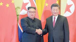 Photo of الزعيم الكوري الشمالي يتعهد بدعمه الكامل للصين في رسالة إلى الرئيس الصيني