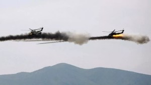 Photo of أذربيجان تنفي سقوط مروحية عسكرية تابعة لها بمنطقة قره باغ