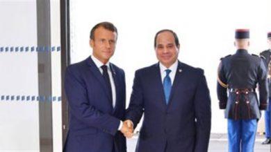 Photo of الرئيس السيسي يتلقى اتصالًا هاتفيًا من إيمانويل ماكرون رئيس فرنسا