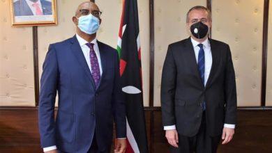 Photo of سفارة مصر بكينيا ترتب لقاءً لوفد وزارة الصحة لبحث التعاون المشترك