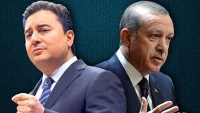 Photo of باباجان يتهم إردوغان بسرقة خطاباته
