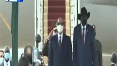 Photo of «الرئاسة»: سلفا كير يستقبل السيسي بمطار جوبا الدولي