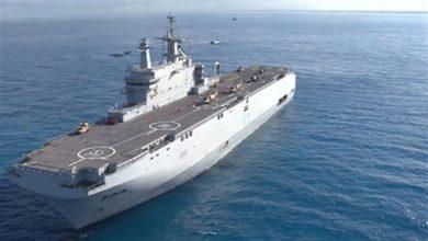 Photo of القوات البحرية تشارك في التدريب البحري المصري-الروسي المشترك (جسر الصداقة–3)