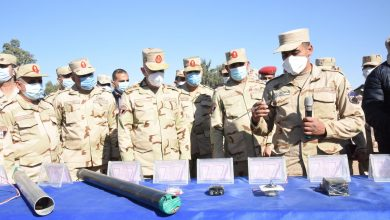 Photo of رئيس الأركان يتفقد معسكر إعداد وتأهيل مقاتلي شمال سيناء