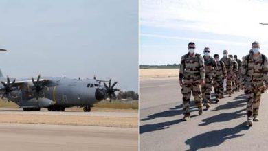 Photo of بالصور.. تدريب جوي مصري فرنسي مشترك بإحدى القواعد الجوية المصرية