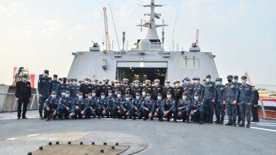 """Photo of القوات البحرية تتسلم الفرقاطة الشبحية """"بورسعيد"""" من طراز (جوويند) من شركة ترسانة الإسكندرية"""